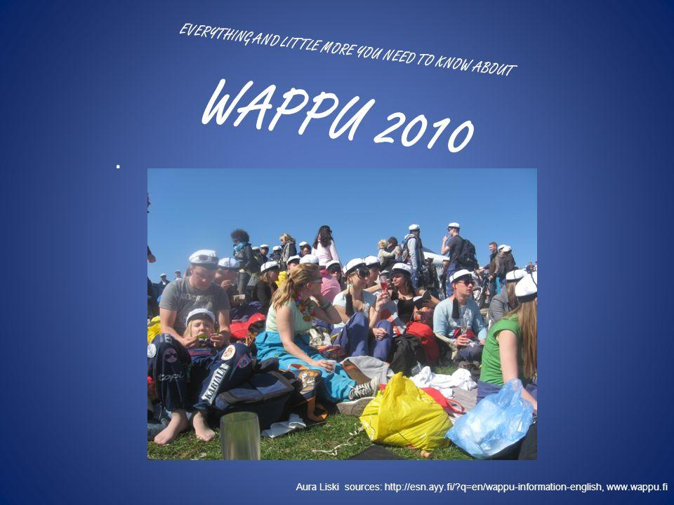 The Wappu schedule 2010 Friday 30.4.
