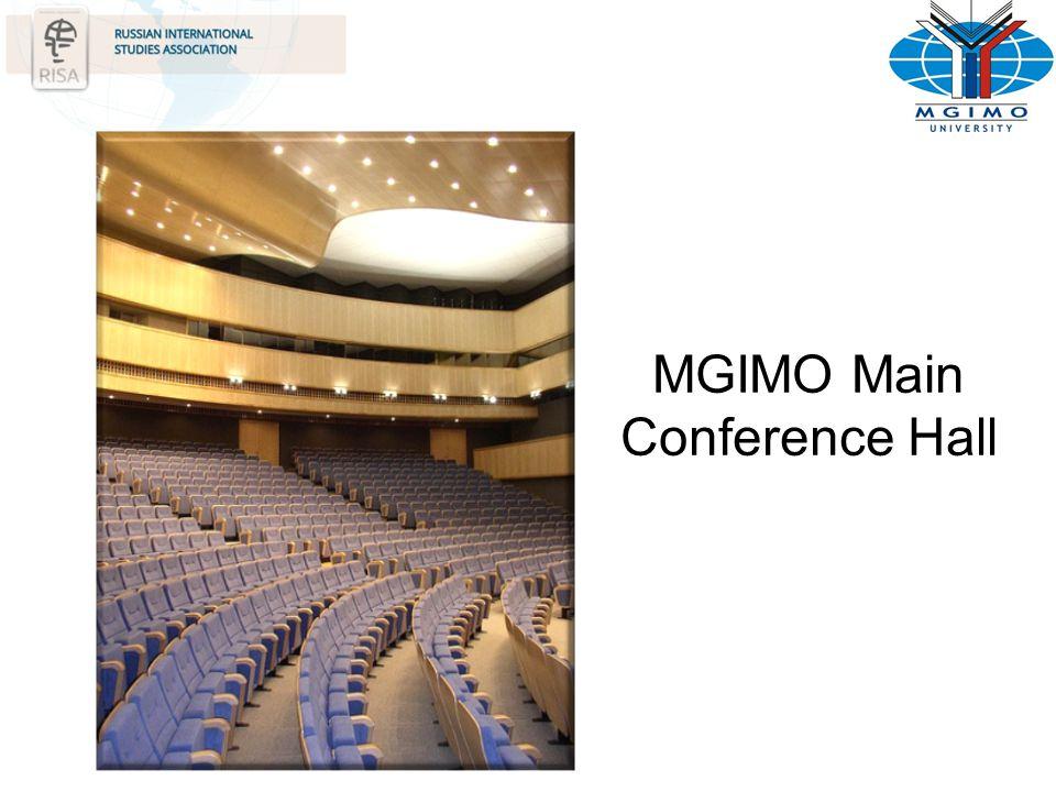 MGIMO Main Conference Hall