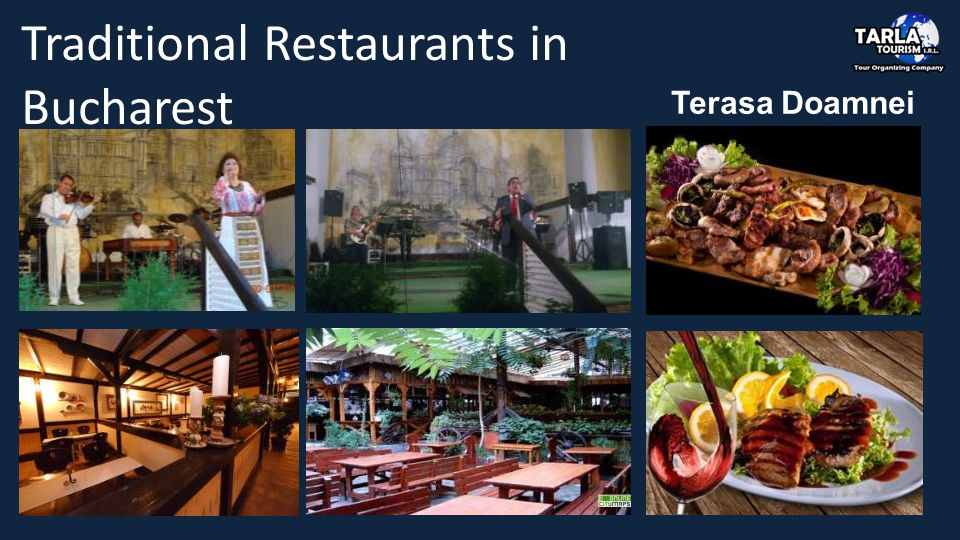 Terasa Doamnei Traditional Restaurants in Bucharest