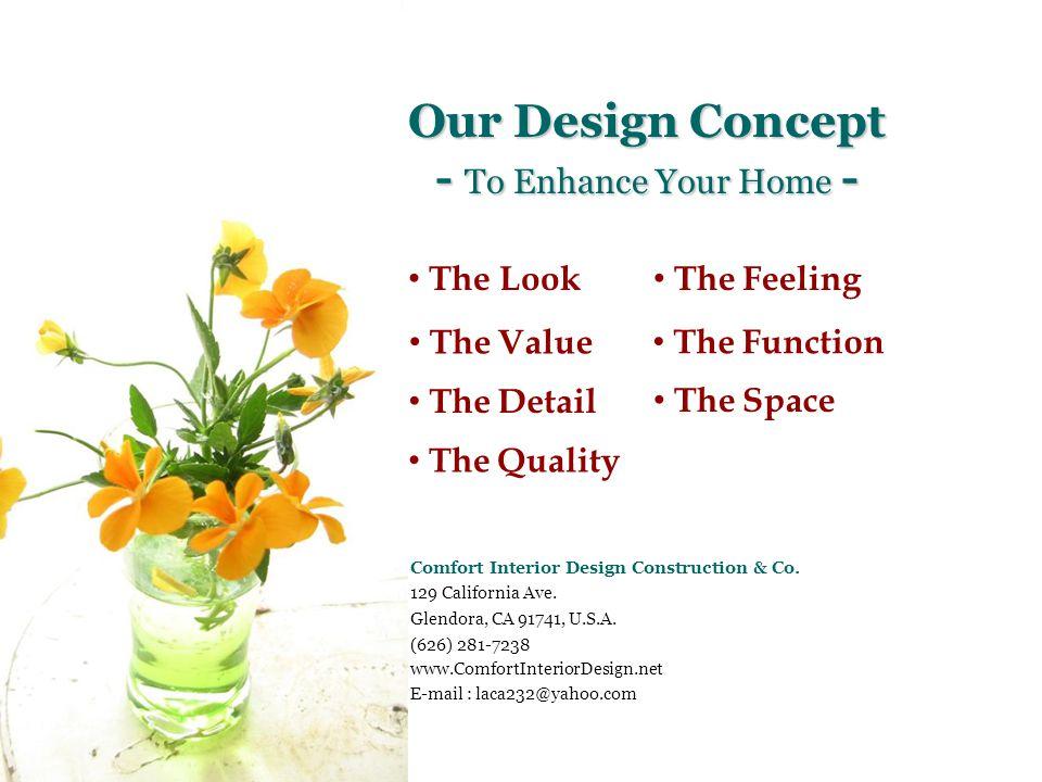 Foyer After Copyright © LACA Comfort Interior Design & Construction Co.