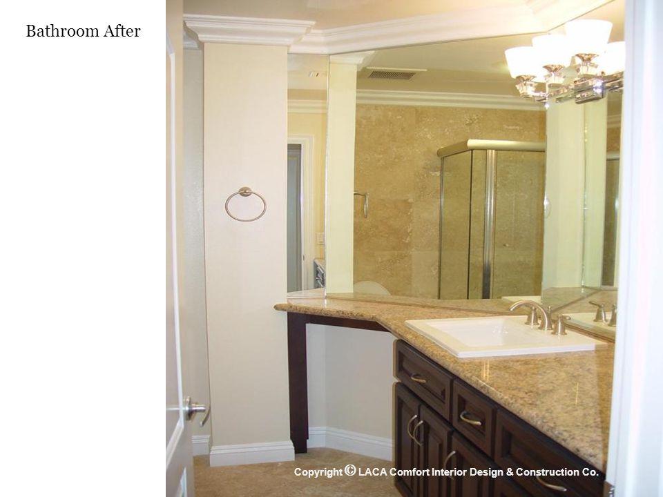 Bathroom After Copyright © LACA Comfort Interior Design & Construction Co.