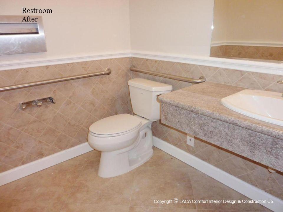 Restroom After Copyright © LACA Comfort Interior Design & Construction Co.
