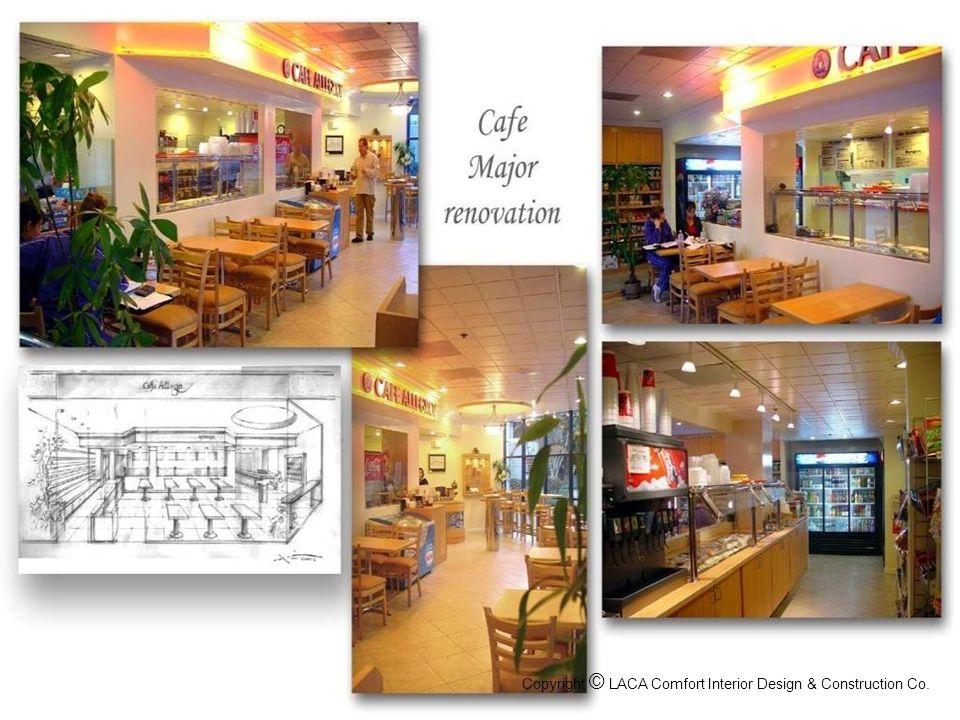 Restaurant Design & Remodel Copyright © LACA Comfort Interior Design & Construction Co.