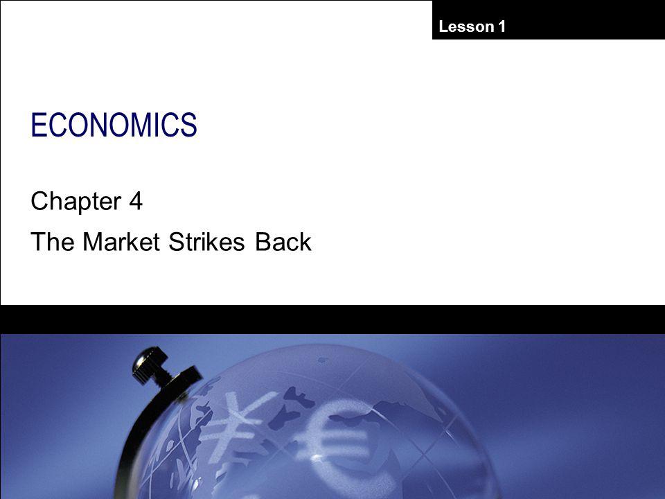 Lesson 1 ECONOMICS Chapter 4 The Market Strikes Back