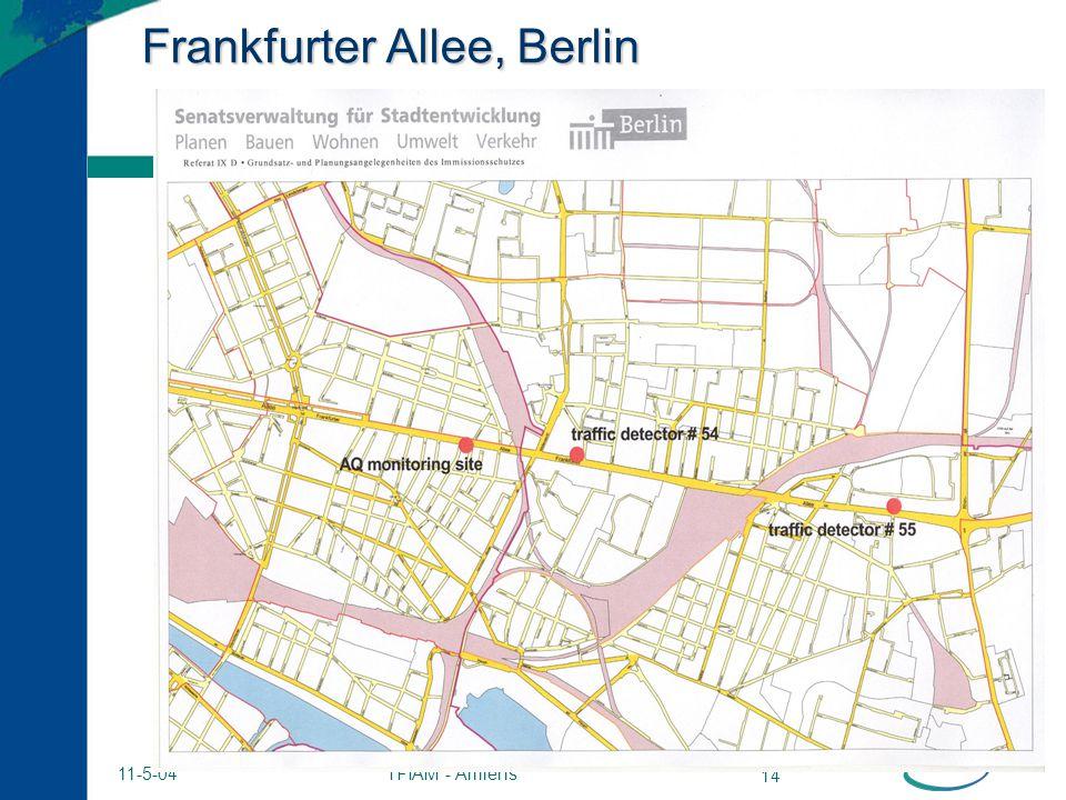 TFIAM - Amiens 14 11-5-04 Frankfurter Allee, Berlin
