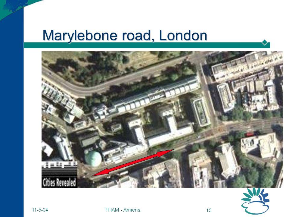 TFIAM - Amiens 15 11-5-04 Marylebone road, London