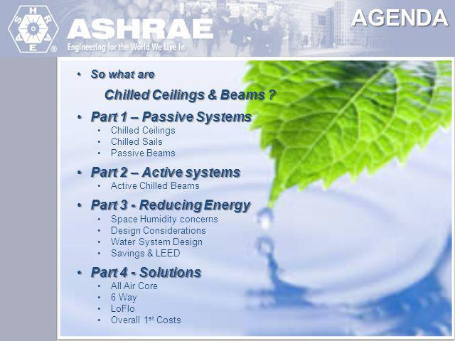 ASHRAE Engineering for the World We Live In Typical Installation