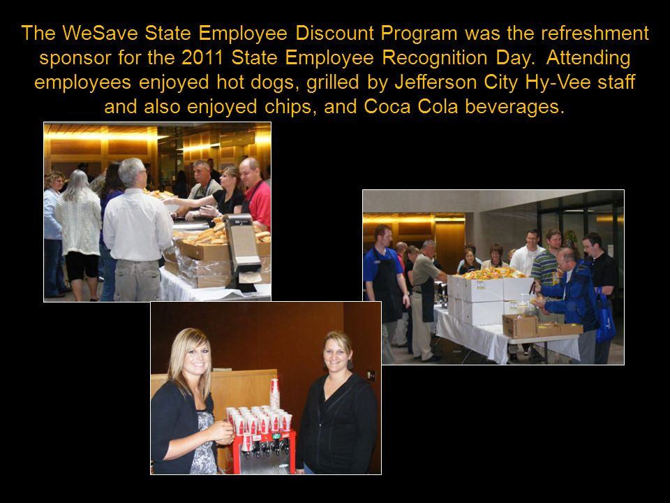 Jefferson City Hy-Vee Staff provided their grilling expertise and customer service