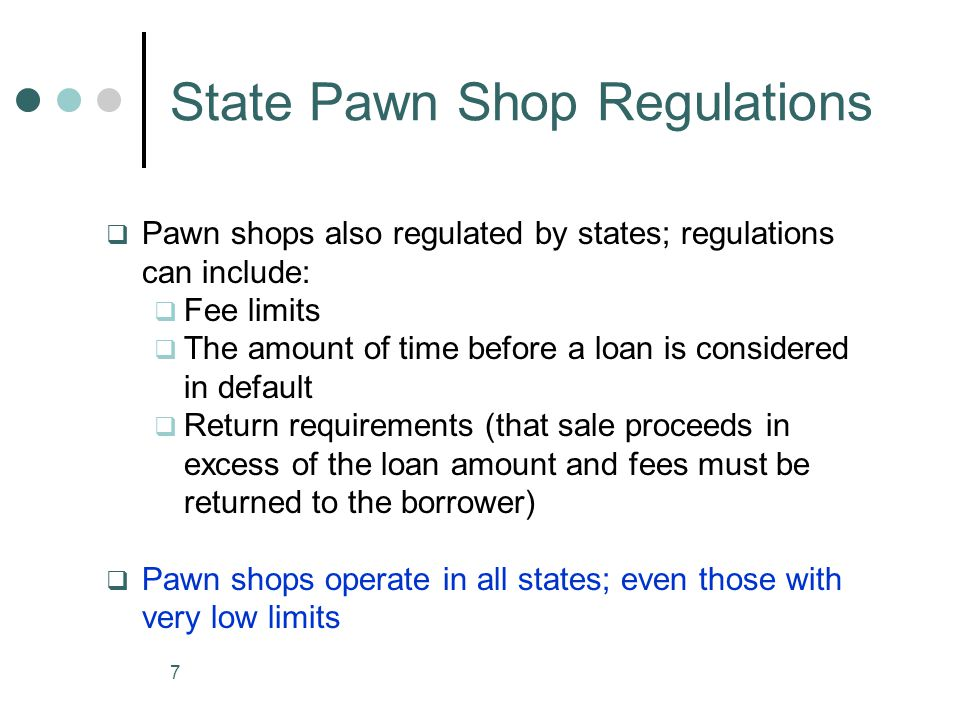 8 Evidence about Customer Use Evidence of frequent payday loan use: Caskey (2005): state government data show most customer use payday loans more than 6 times a year; one quarter had 14 or more loans during the year.