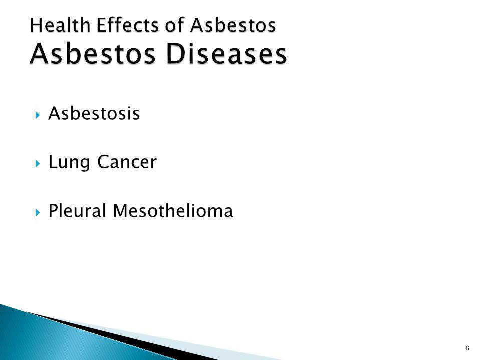 Asbestosis Lung Cancer Pleural Mesothelioma 8