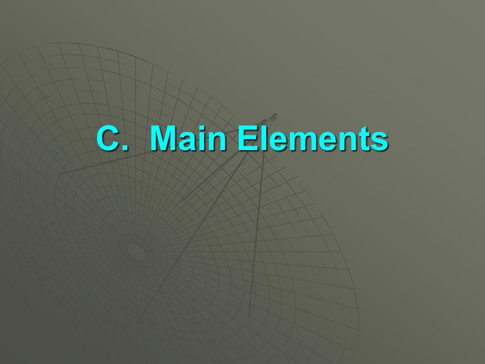 C. Main Elements