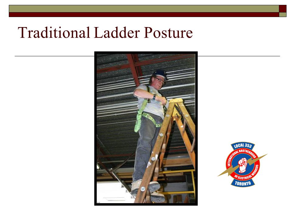 Traditional Ladder Posture