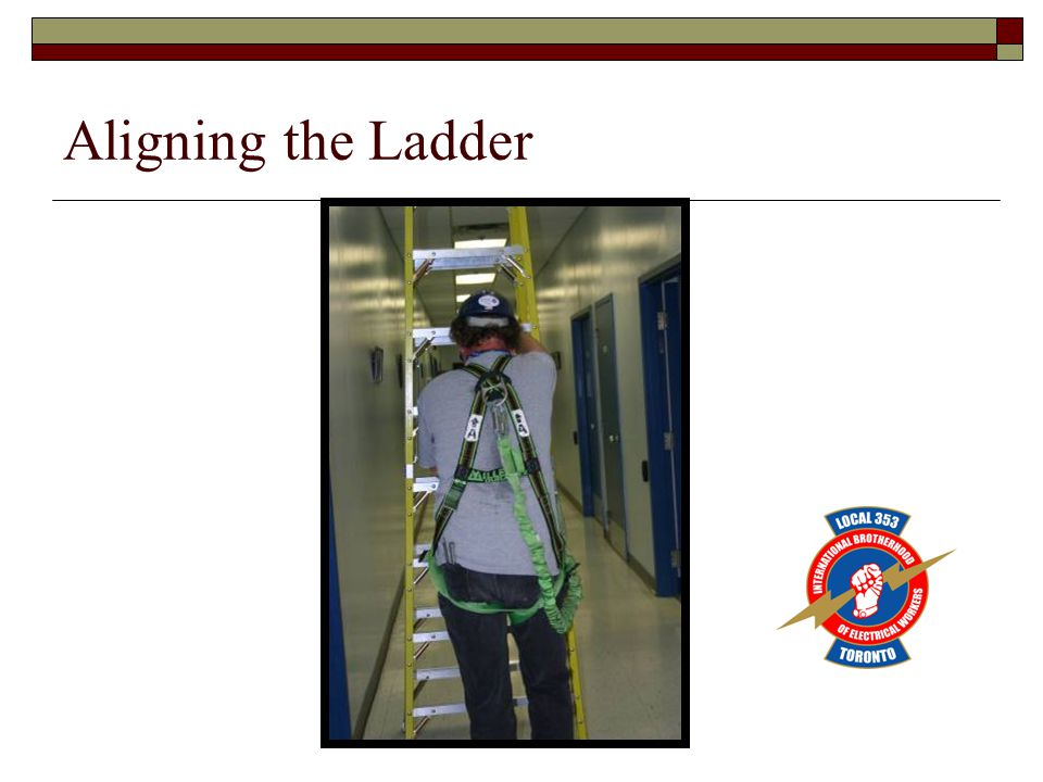 Aligning the Ladder