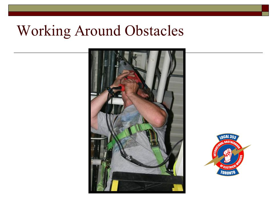 Working Around Obstacles