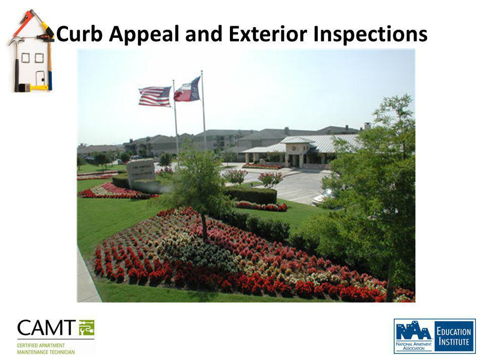 Curb Appeal and Exterior Inspections