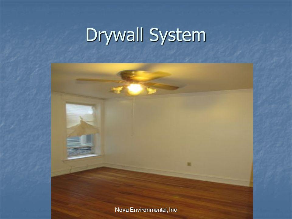 Drywall System Nova Environmental, Inc