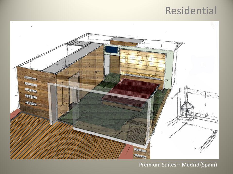Residential Premium Suites – Madrid (Spain)