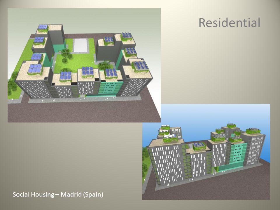 Residential Social Housing – Madrid (Spain)