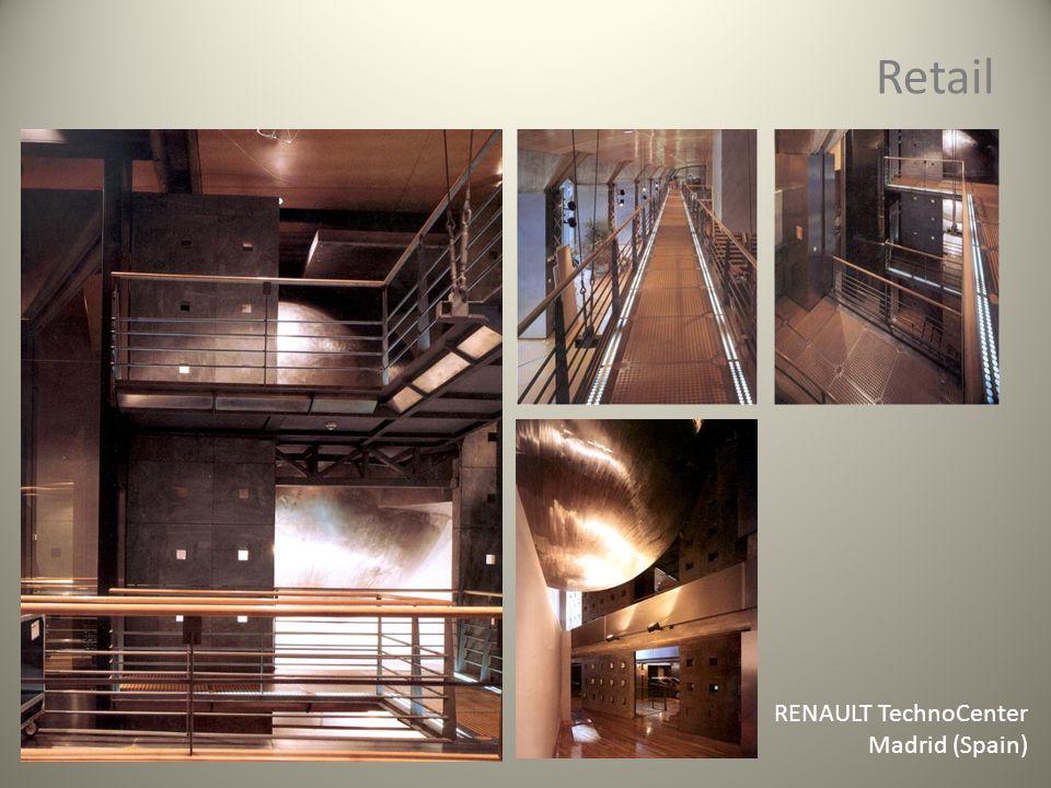 Retail RENAULT TechnoCenter Madrid (Spain)