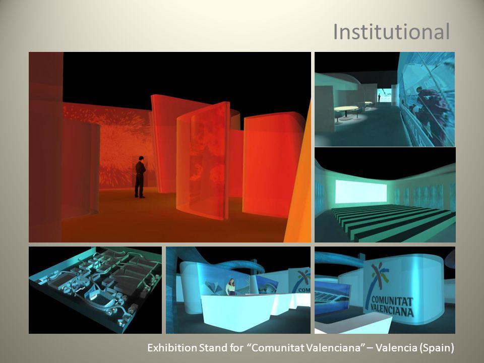 Institutional Exhibition Stand for Comunitat Valenciana – Valencia (Spain)