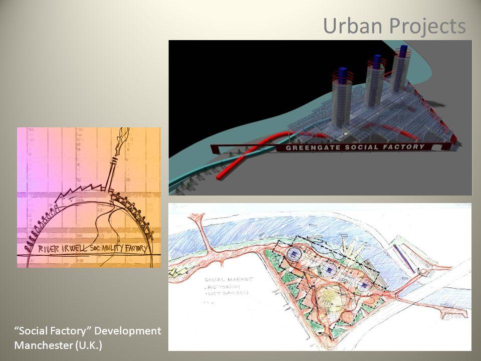 Urban Projects Social Factory Development Manchester (U.K.)