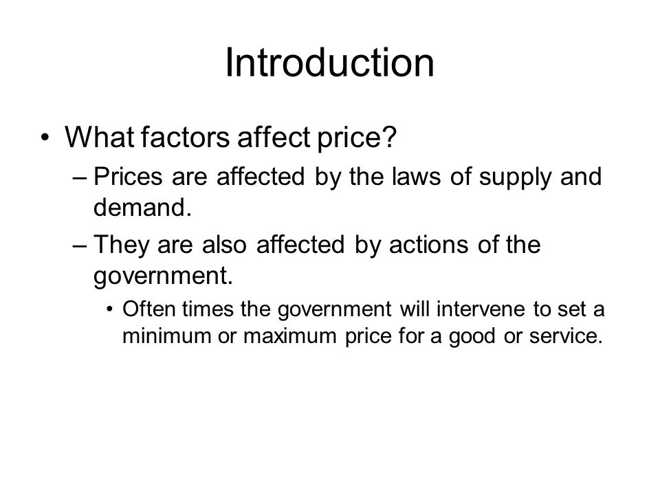 Objectives 1.Explain why a free market naturally tends to move toward equilibrium.