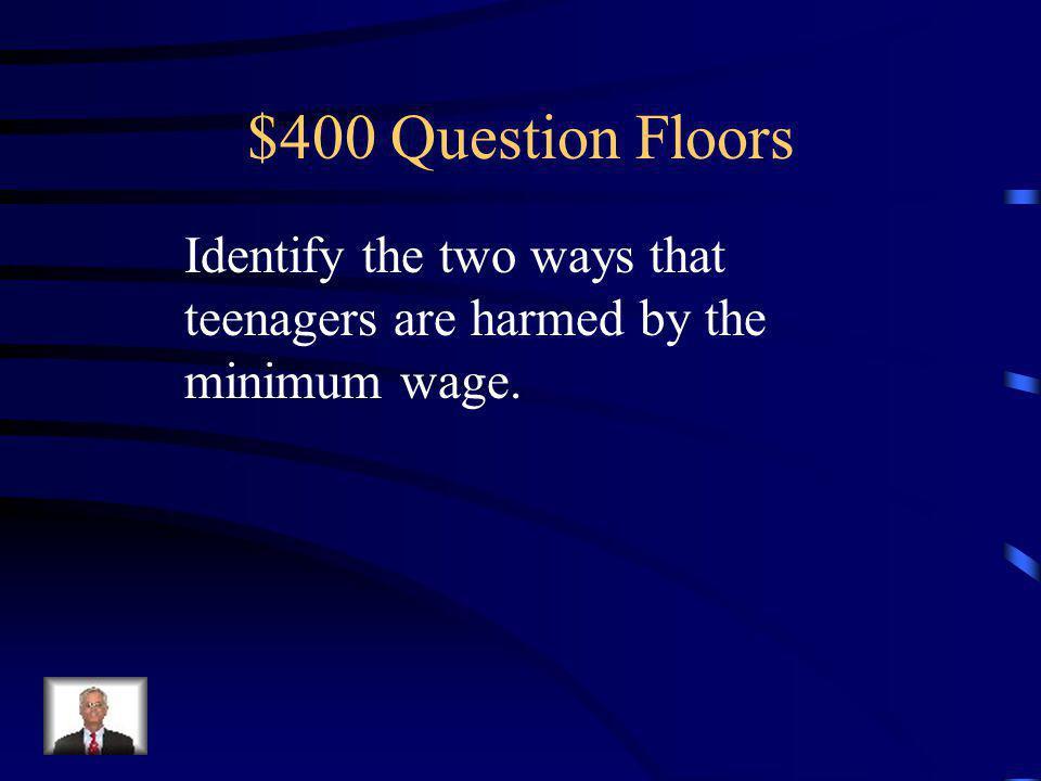 $300 Answer Floors 1.Store it. 2. Convert it. 3. Sell it abroad. (Dump it) 4. Donate it. 5. Destroy it.