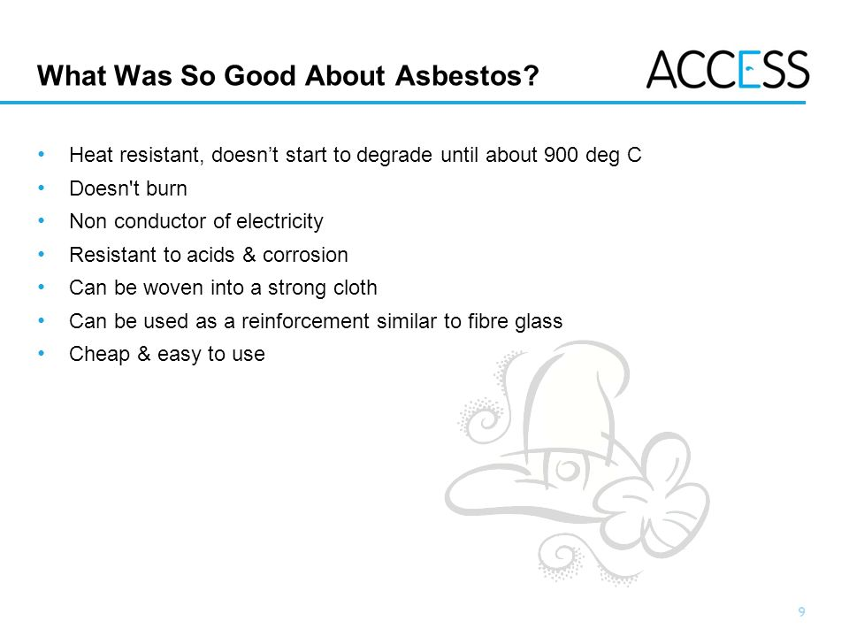 20 Slide 20 Asbestos Surveys The purpose of the survey is to help manage Asbestos in the duty holder s premises.