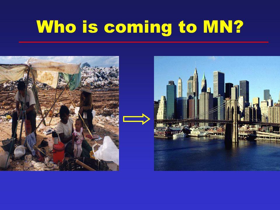 Refugee Arrivals to MN by Region of World 1979-2008* Refugee Health Program, Minnesota Department of Health