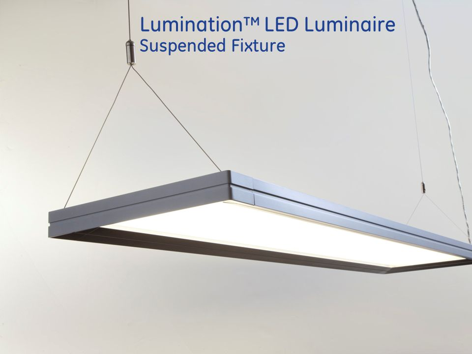 Lumination LED Luminaire Suspended Fixture