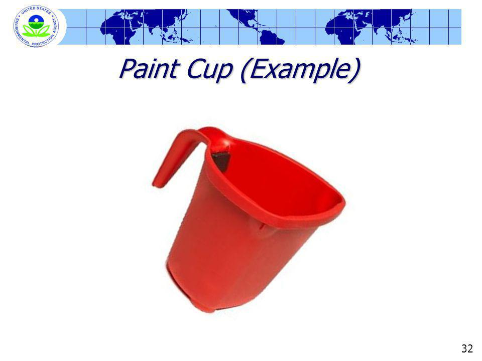 Paint Cup (Example) 32