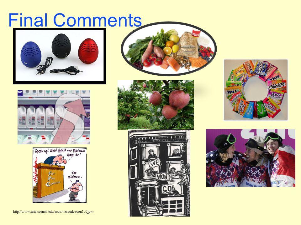http://www.arts.cornell.edu/econ/wissink/econ102jpw/ Final Comments