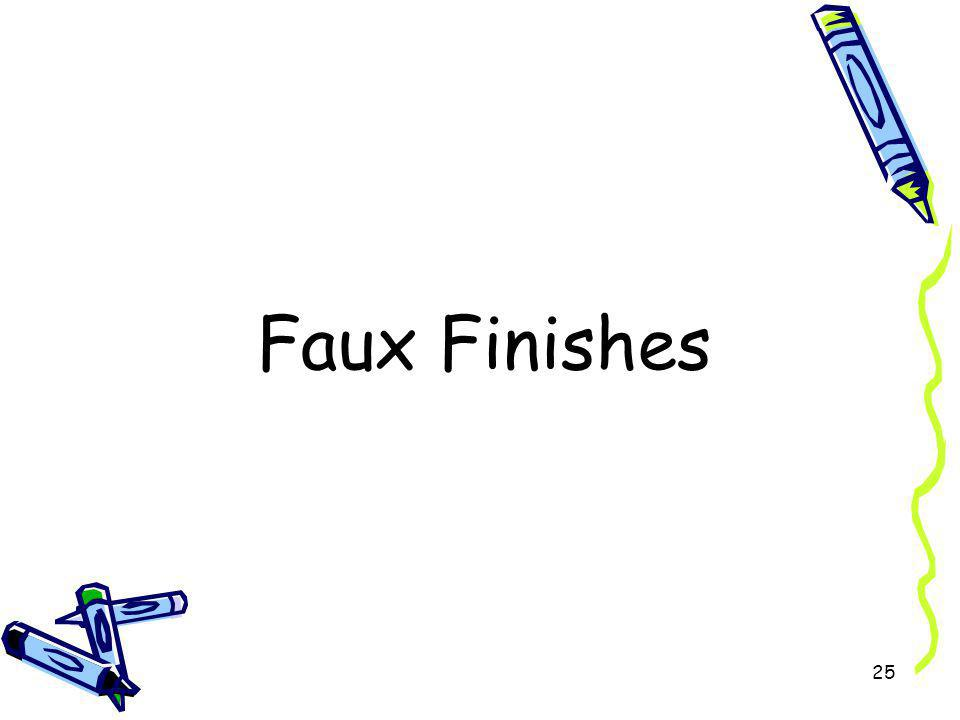 Faux Finishes 25