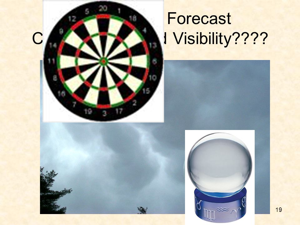 19 How Do You Forecast Ceiling Height and Visibility????