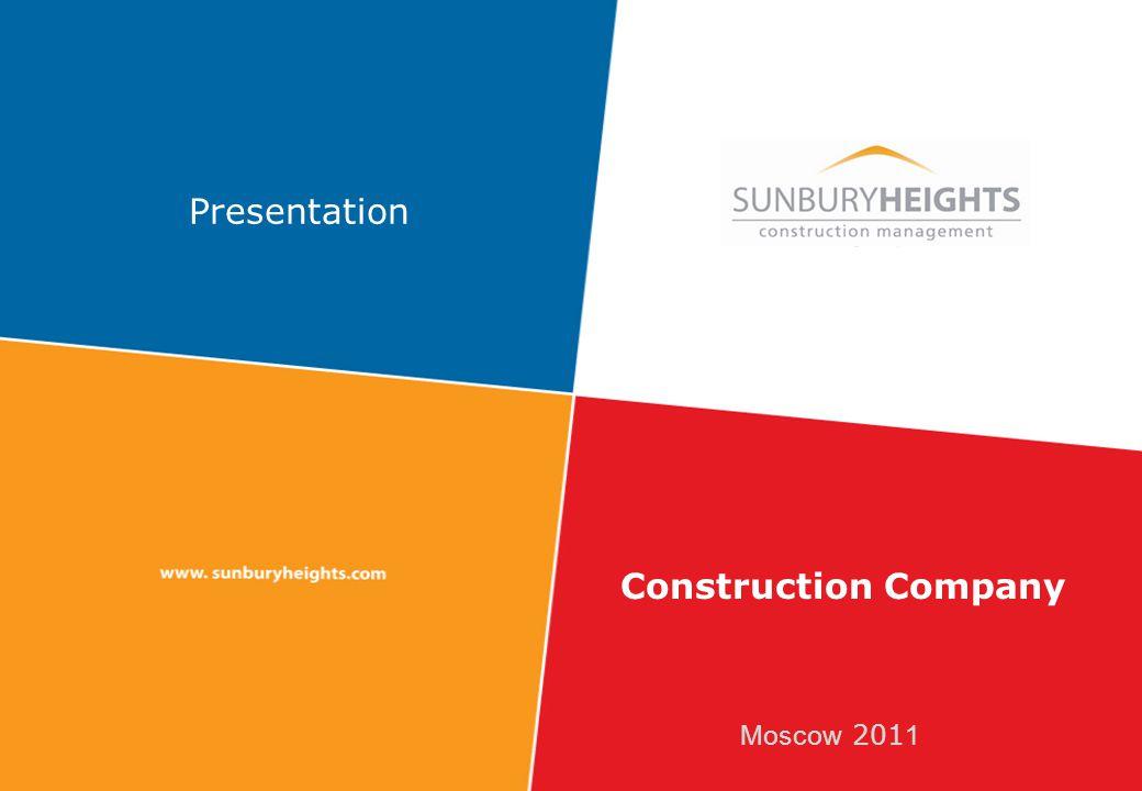 Moscow 201 1 Presentation Construction Company