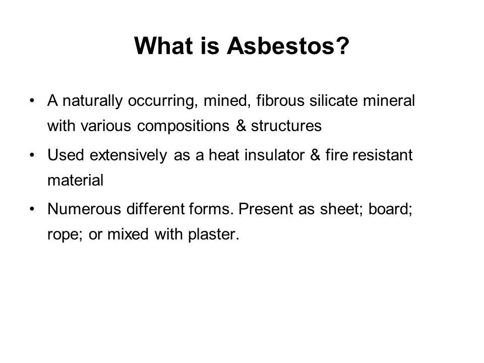 What is Asbestos.