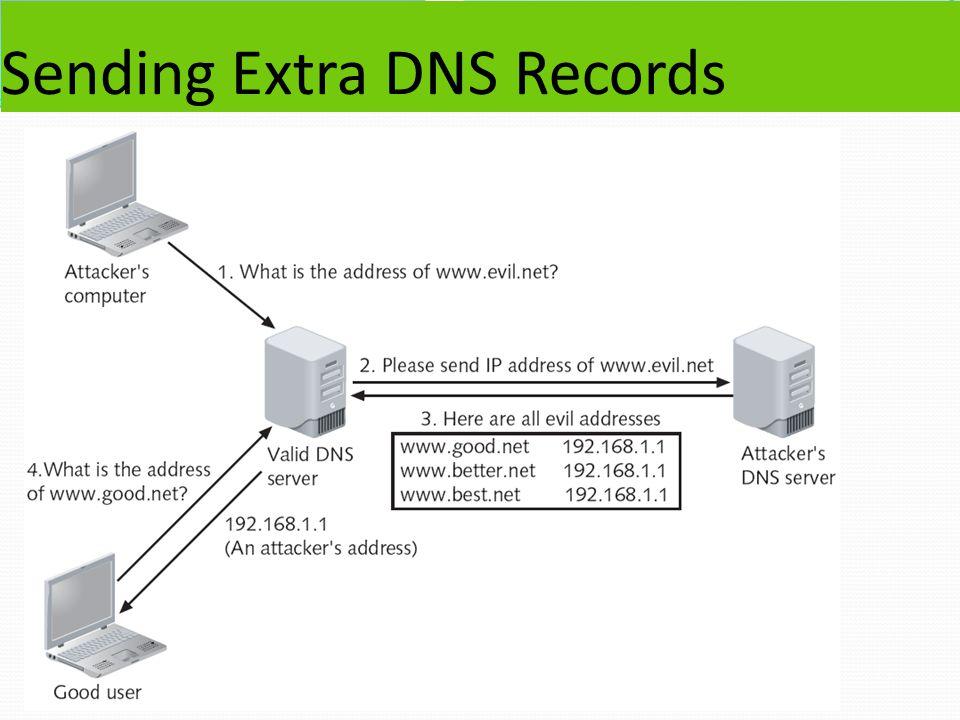 Sending Extra DNS Records