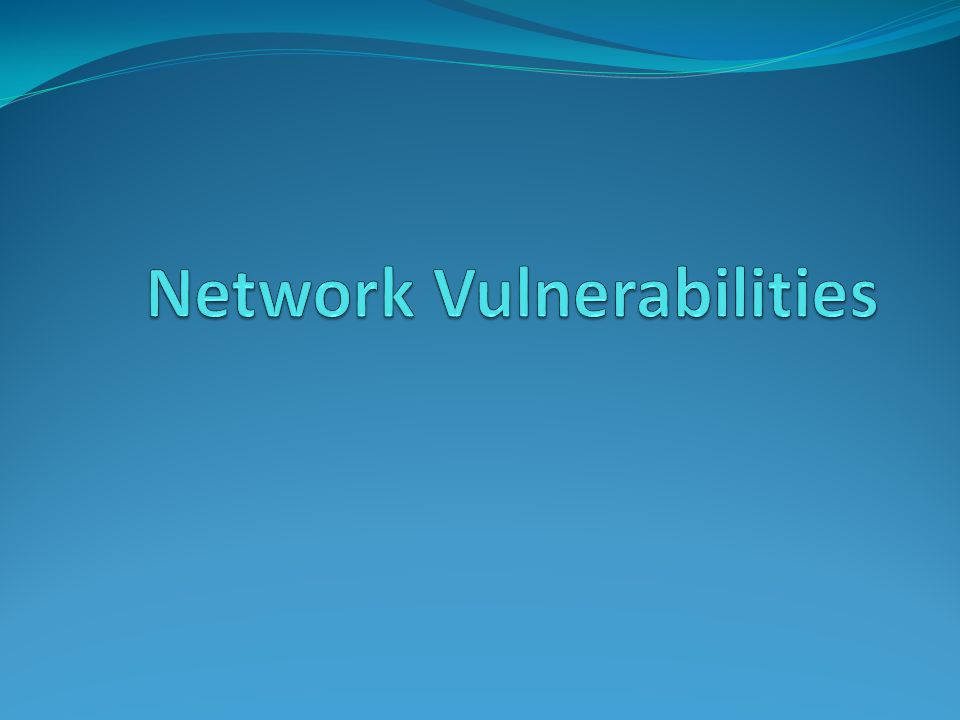 Media-Based Vulnerabilities Monitoring network traffic Helps to identify and troubleshoot network problems Monitoring traffic can be done in two ways Use a switch with port mirroring Copies all traffic to a designated monitoring port on the switch Install a network tap (test access point) A device that installed between two network devices, such as a switch, router, or firewall, to monitor traffic