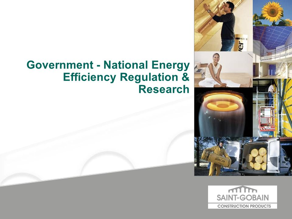 Government - National Energy Efficiency Regulation & Research