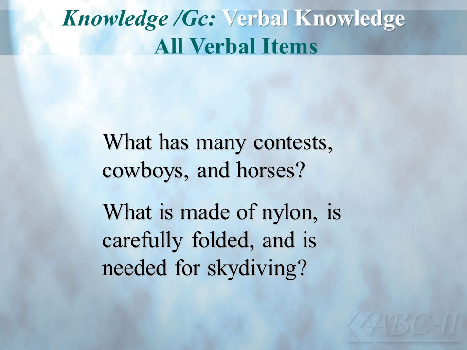 What has many contests, cowboys, and horses? What is made of nylon, is carefully folded, and is needed for skydiving?