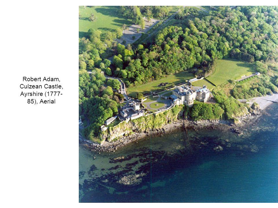 Robert Adam, Culzean Castle, Ayrshire (1777- 85), Aerial
