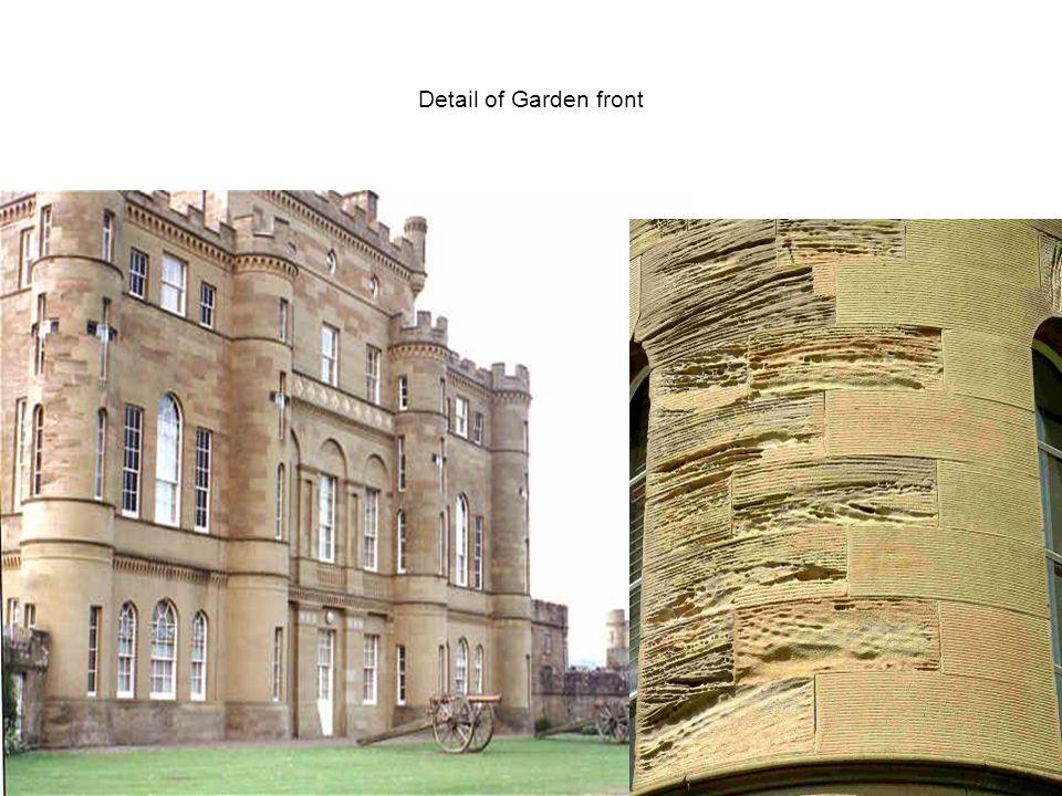 Detail of Garden front