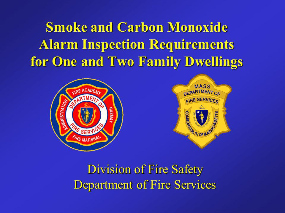 Presentation Scope: This program will outline the smoke and carbon monoxide (CO) alarm requirements for the inspection of detached one and two family dwellings as it relates to M.G.L.