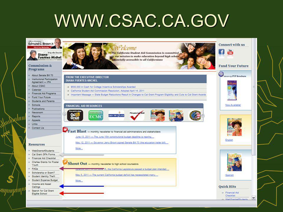 WWW.CSAC.CA.GOV