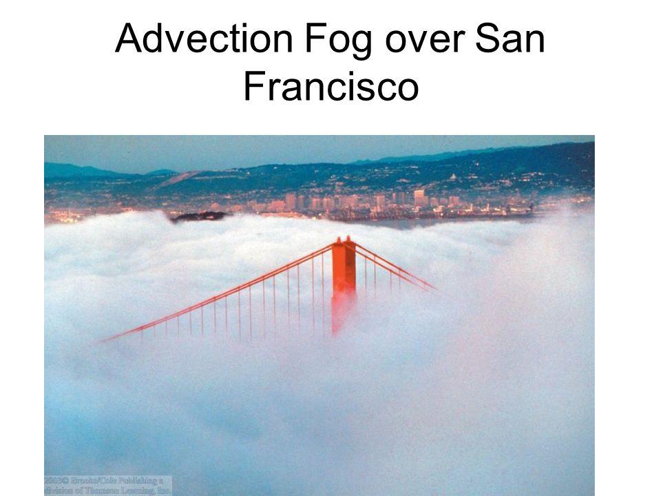 Radiation Fog Near Ground in Valley