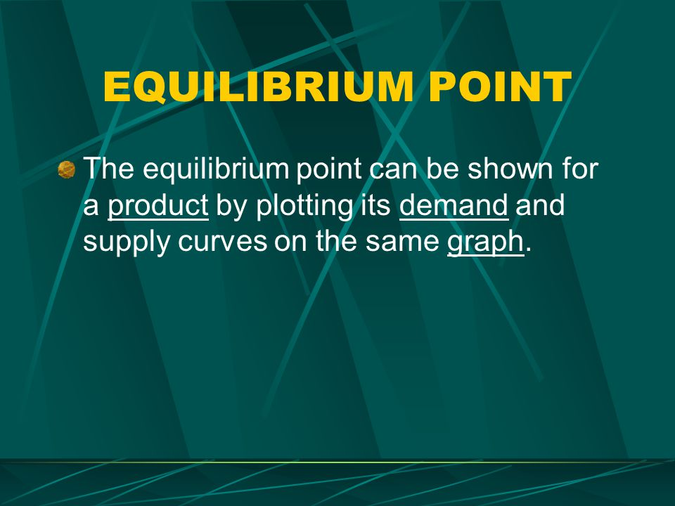 SURPLUS A surplus exists when the quantity supplied exceeds the quantity demanded at the price offered – it tells producers that they are charging too much for their product.