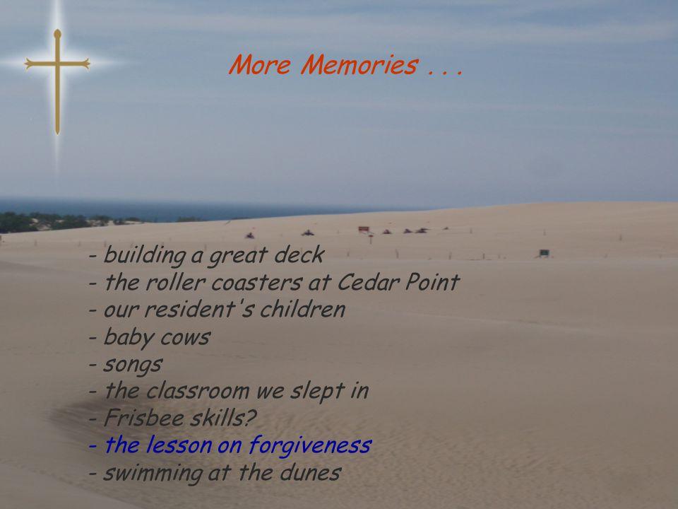 More Memories...