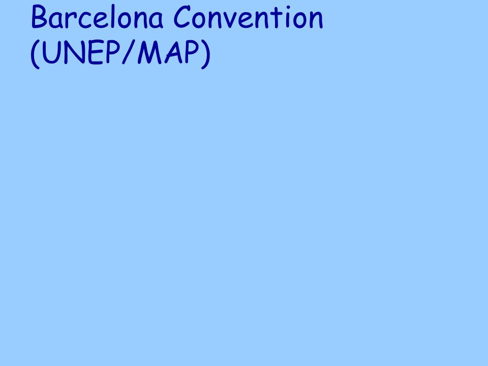 Barcelona Convention (UNEP/MAP)