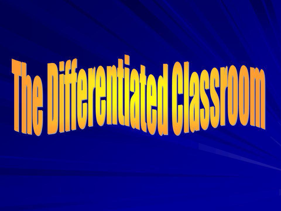 The fact that students differ may be inconvenient, but it is inescapable. Theodore Sizer