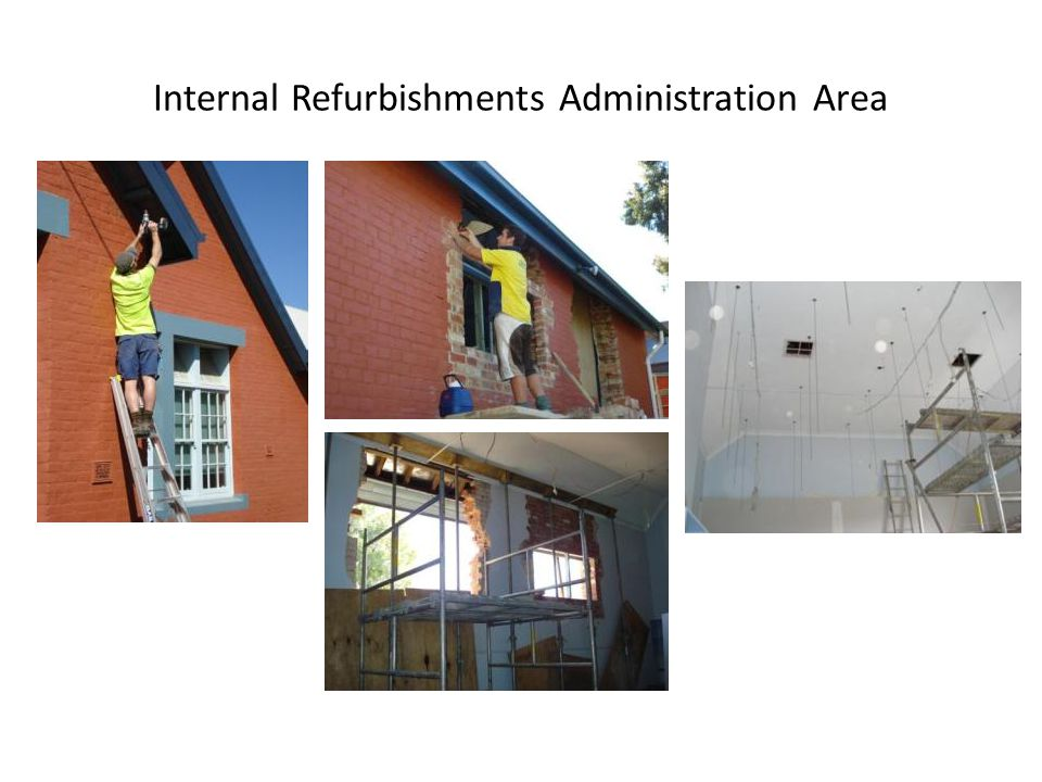 Internal Refurbishments Administration Area